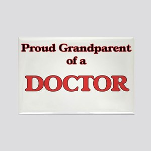 Proud Grandparent of a Doctor Magnets